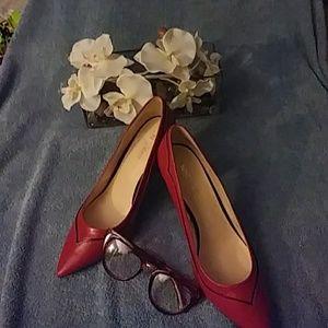 🌶️ NINE WEST RED HEELS 👠